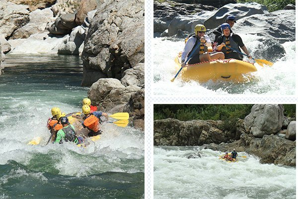 rafting class 3 and 4 cangrejal river