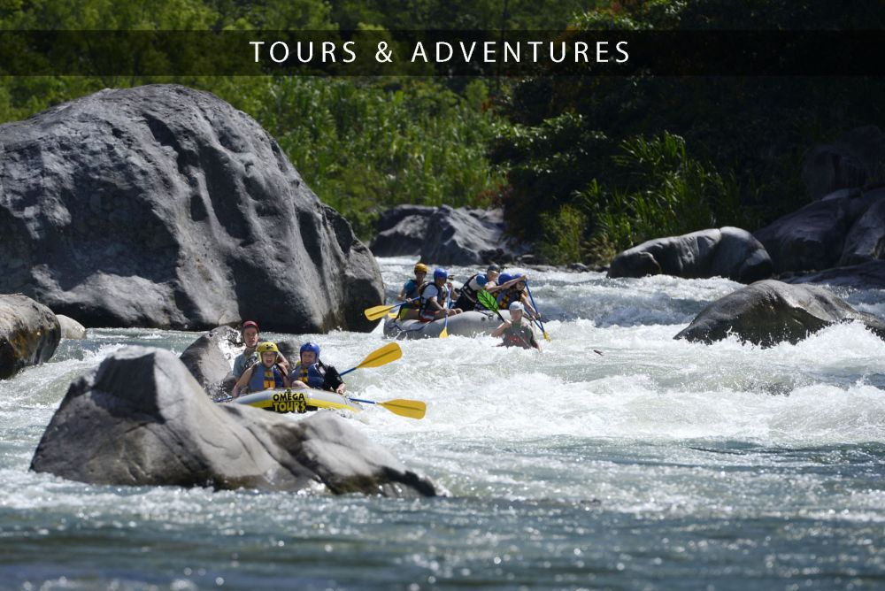 rafting on the cangrejo with omega tours