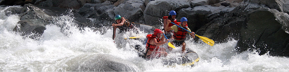 rafting and other activities with omega tours