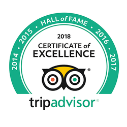 certificate of excellence awards trip advisor